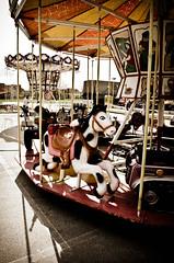Little carousel horse... (aleksi the great) Tags: light horse fun toys loneliness silent fairground empty carousel silence spinning figure amusementpark lunapark merrygoround funfair rotating emptiness carrousel carouselhorse carosello