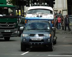 Mitsubishi L200 Hot Wheels (kenjonbro) Tags: uk england london westminster trafalgarsquare charingcross sw1 kenjonbro fujihs10