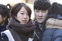 Young couple in Hongdae (CyprienR) Tags: korea seoul 2012 hongdae coreenne