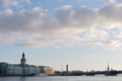 Early morning in St. Petersburg