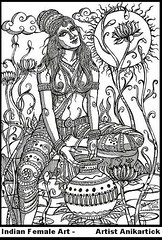 Indian Female Art 04 - Artist Anikartick,Chennai,India (ARTIST ANIKARTICK (VASU engira KARTHIKEYAN)) Tags: art female pen sketch artist gallery anika sketching images wallpapers chennai ani tamilnadu linedrawing pendrawing femalenude nudefemale anik femalebody photocollection femalepainters femaleart femalepainting sketchwork femaleanatomy chennaiartist blackinkdrawing femaleillustration anikartick femalesketch chennaiart anikartickartist anikart anikartickchennai indianfemaleart nudefemaledrawings