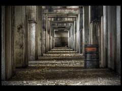 Oil Absorbent (David Crombie Photography) Tags: urban ontario canada abandoned nikon factory decay automotive 100mm tokina exploration derelict hdr urbex d700 tokina100mmf28atxprod
