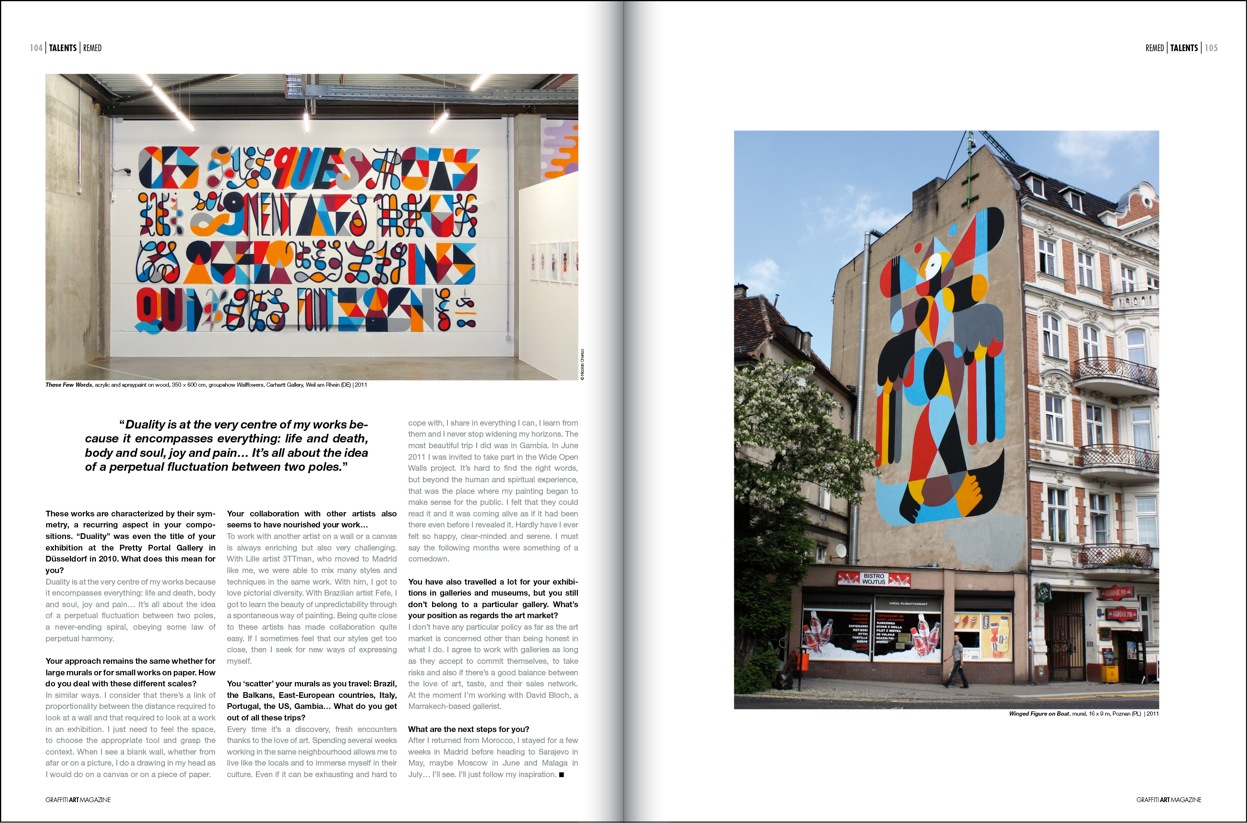 GRAFFITI ART Magazine.