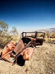 Oldie but Goldie (the-living-years) Tags: old usa car america rust desert pentax rusty oldcar k10d wuste