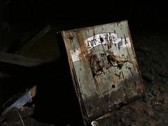 art in the dark 'rot gut' (Mycophagia) Tags: railroad lightpainting abandoned dark rotgut tunnel urbanexploration eastside derelict ue urbex