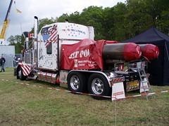 Jet Engined 1997 Kenworth (Davydutchy) Tags: auto usa netherlands car truck classiccar jet may engine chrome american oldtimer veteran friesland 2012 kenworth showcar klassiker fryslân oldtimerdag hoornsterzwaag