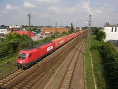 E-loc 1116 236-9(Emmerich 6-6-2008) (Ronnie Venhorst) Tags: train siemens zug shuttle taurus öbb trein itl tulipan 236 emmerich elok 1116 eloc goederentrein containertrein tulipanshuttle