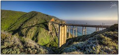 Bixby Creek Bridge (Frank Kehren) Tags: california bridge sunset shadow panorama canon coast pacific arc bigsur 17 f11 hdr oldcoastroad californiahighwayone pacificcoasthighway bixbycreekbridge canoneos5dmarkii tse17mmf4l
