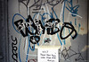 (Into Space!) Tags: street door city nyc newyorkcity urban ny newyork graffiti photo guess beef tag tags graff rambo yes2 bombing diss osnap intospace intospaces