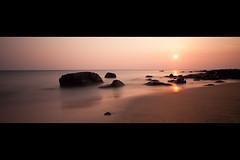 Fanore Beach (PixelTrawler) Tags: sunset beach canon landscape flow warm 2012 fanore