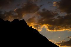 Sun sets over Hunder (Hema Narayanan) Tags: leh ladakh nubravalley nationalgeographic hunder nubra hundervillage highaltitudepassesoftheworld highmotorablepassesofladakh hundervalleyclosetopakistanborder siachenregion