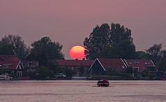 Windmill Village Holland (zong_yu0123) Tags: sunset netherlands windmill dutch amsterdam shoe wooden schans     zannse