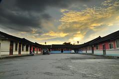 ((((Mr.Ron)))) Tags: sunset taiwan  blackcard   sanhoyuan