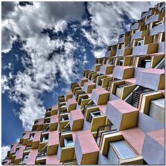 To each his own angle (Nespyxel) Tags: barcelona windows sky building architecture triangles square spain angle pov balcony perspective lookingup diagonal pointofview cielo forms palazzo architettura barcellona spagna quadrato diagonale prospettiva finestre geometrie geometries triangolo triangoli noseup nespyxel stefanoscarselli undermyfeetovermyhead