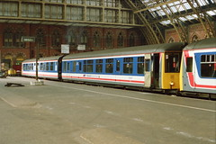19910728 008 St Pancras BRCW Class 104 DMBS 53437 Paired With Gloucester Carriage and Wagon Class 119 DMS 51103 (15038) Tags: br diesel trains railways britishrail dms dmu 53437 51103 class104 class119 dmbs