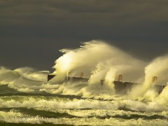 All Powerful (Happyhiker4) Tags: nature water waves lakemichigan