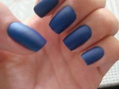 Risque Lápis Lazuli (Jéssica Gerald) Tags: azul risque lapis unha lazuli fosco