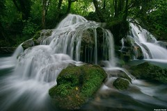 Cascade de Tuf du Dérochoir - Mesnay (francky25) Tags: de du jura cascade tuf comté franche nd8 dérochoir mesnay