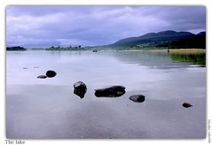 The Lake (Nicolas Valentin) Tags: lake nature water landscape scotland fishing scenery scenic loch menteith