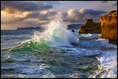 Green Water (Darren White Photography) Tags: ocean sunset beach clouds oregon canon coast landscapes sandstone bravo waves northwest scenic pacificnorthwest oregoncoast saltwater pacificcity capekiwanda 24105l darrenwhite outdoorphotographer pelicanpub traveloregon northwestlandscapes darrenwhitephotography 5dmkii