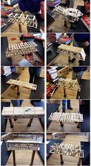Popsicle Stick Bridges 3 (designsbykari) Tags: bridge usa art students colorado unitedstatesofamerica engineering denver testing beam teacher physics lesson truss elmersglue northhighschool popsiclestickbridges