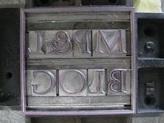 Augustea with boxed rule (Elwyn Brooks) Tags: typography blog ephemera printing letterpress metaltype bembo augustea typeform handsetting