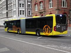 "Utrecht: Mercedes-Benz Citaro ""U-OV"" (harry_nl) Tags: bus netherlands utrecht nederland mercedesbenz articulated 2014 citaro 4166 uov gelede qbuzz 74bdh4"