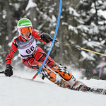 Ethan MCTAVISH of WMSC/Canada takes 14th Place in the U14 Boys Slalom Race held on Whistler Mountain on April 5th, 2014. Photo by Scott Brammer - coastphoto.com
