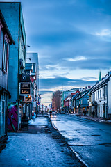 The street (sandnesj) Tags: street city sky cars colors clouds canon 50mm town photo cool picture down photograph hdr