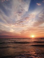 (jamiebreann) Tags: sunset beach st petersburg pete