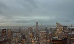 one day, again (Paul J's) Tags: city nyc usa newyork skyline empirestatebuilding rockefellercentre topoftherock 13011025nyc