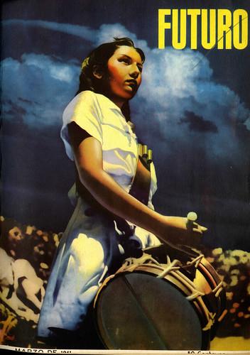 Portada de Josep Renau Berenguer para la Revista Futuro (marzo de 1941)