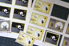my latest stamps 2 (swig - filz felt feutre) Tags: animals paper stamps humor felt humour papier marken swig filz papeterie briefmarken feutre timbres timbresposte paperpleasures papierfreuden plaisirsdepapier