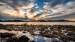 Lac de Bourdouze & Puy de Sancy (Windwsill) Tags: voyage sunset lake france mountains volcano lac paysage auvergne coucherdesoleil montagnes puydedme puydesancy etang volcans lacdebourdouze