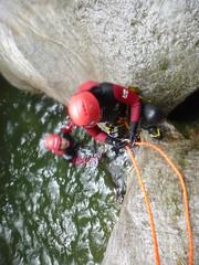 P1120373 (Mountain Sports Alpinschule) Tags: blue mountain sports lagoon canyoning zillertal zemmschlucht alpinschule