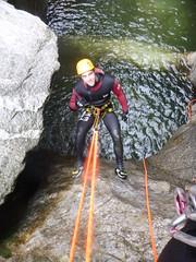 P1120381 (Mountain Sports Alpinschule) Tags: blue mountain sports lagoon canyoning zillertal zemmschlucht alpinschule