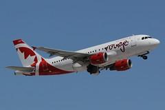 C-FYJE - LAS (B747GAL) Tags: las vegas canada rouge air airbus klas a319 cfyje
