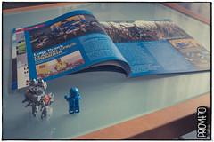 Look! We are famous! (Priovit70) Tags: magazine lego benny interview mrrobot minifigures brickjournal priovit70 olympuspenepl7