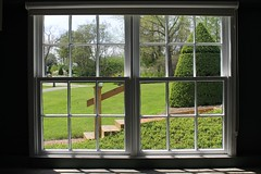 Ladew Gardens Cafe ~ HWW! (karma (Karen)) Tags: windows gardens shadows steps maryland monkton cafes ladewtopiarygardens viewbeyond nrhp hww cmwdgreen harfordco