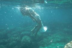 go slowly (thewhitestdogalive) Tags: blue sea portrait blur water girl beautiful beauty fun mare underwater bokeh liguria mermaid siren outfocused riccardobandieraphotography riccardobandieracom