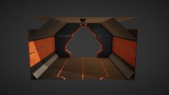 Large_Corridor_Test (WeAreBots Studio) Tags: scifi sciencefiction eternity survival drift fps gamedev into indiedev