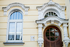 Beautiful facade (neus_oliver) Tags: street door city travel house home window beautiful architecture facade germany nikon europe details entrance streetphotography explore mnster discover d3200