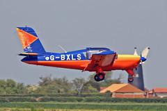 "G-BXLS PZL-110 Koliber 160A D C Bayes Sturgate Fly In 05-06-16 (PlanecrazyUK) Tags: sturgate egcs ""fly in"" 050616 ""lincoln aero club ltd"" gbxls pzl110koliber160a dcbayes fly in"