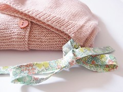 Baby Cardigan & Bonnet (gingergooseberry) Tags: knitting 2016 baby girl cardigan bonnet ravelry