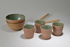 Tea-Bowl-green-brown-010 (cdkceramic) Tags: brown green ceramic teabowl    cdkceramic