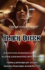 Black Queen Cover (CarlosHerreraJevc) Tags: photoshop flickr wordpress covers specials 2016 wattpad berenicemarlohe jevcupeditions jevcupeditions fanartsjevc bloodlinefanfic