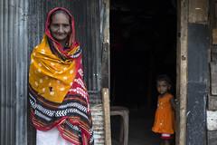 Grandmother (Photosightfaces) Tags: family girl lady child grandmother sri lanka doorway granddaughter srilanka srilankan lankan