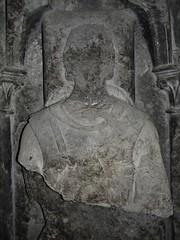 ca. 1265-1276 - 'Hendrik III, duke of Brabant (+1261) and Aleidis of Burgundy (+1273)', Predikherenkerk, Leuven, province of Flemish Brabant, Belgium (roelipilami) Tags: 1265 1276 hendrik iii duke brabant henri henry duc hertog herzog heinrich enrique brabante enrico    1261 1273 aleidis bourgondi alix adelaide bourgogne burgundy adelaida church monument incised slab effigy grafmonument dalle funraire grafplaat grabmal lapida sepulcro tombeau predikherenkerk glise dominicains dominican leuven louvain lovaina mail mailles cotte surcotte surcoat malinkolder kettenhemd hauberk de tombale pierre shield