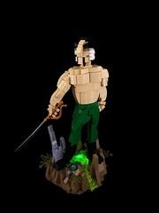 Ra's al Ghul (Tim Lydy) Tags: al lego batman forms gotham ras 2016 ghul brickworld