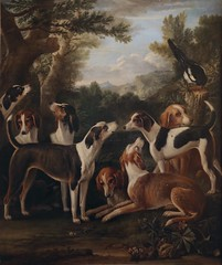 John Wootton. Hounds and a Magpie (c. 1682-1764) (yakovlev.alexey) Tags: saintpetersburg hermitage